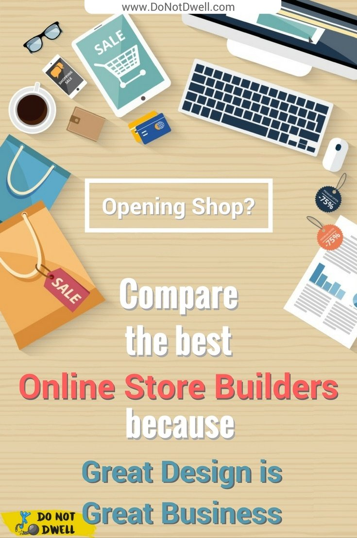 Best eCommerce Software Comparison Chart - This guide compares 17 shopping carts & online store builders on 23 rows of features that are offered. Fine print & unfavorable terms & conditions exposed! Number 3 is on the move!