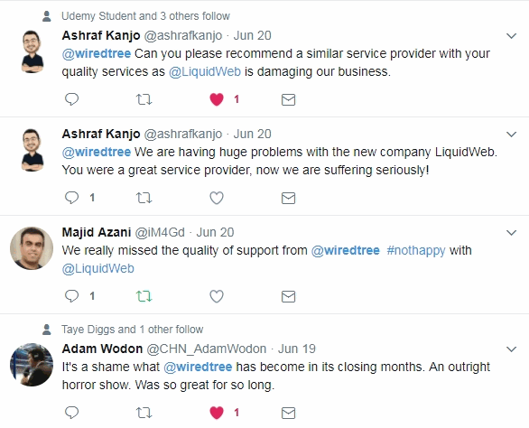 liquid web complaints via twitter