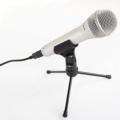 Samson Q1U Dynamic USB Microphone with stand