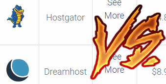 hostgator vs dreamhost