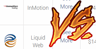 inmotion vs liquid web