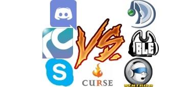 Mumble vs Teamspeak vs Ventrilo, Raidcall, Skype, Discord, Curse