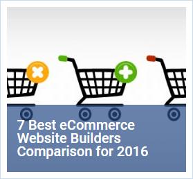 shopping cart builder comparison chart