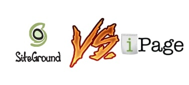 Siteground vs iPage