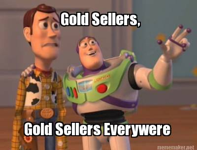 gold sellers