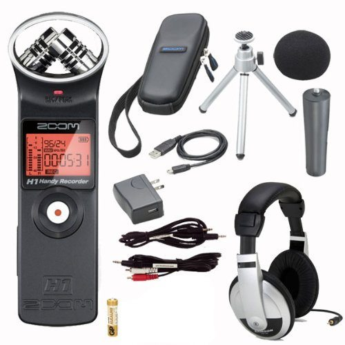Zoom H1 Digital Recorder Bundle