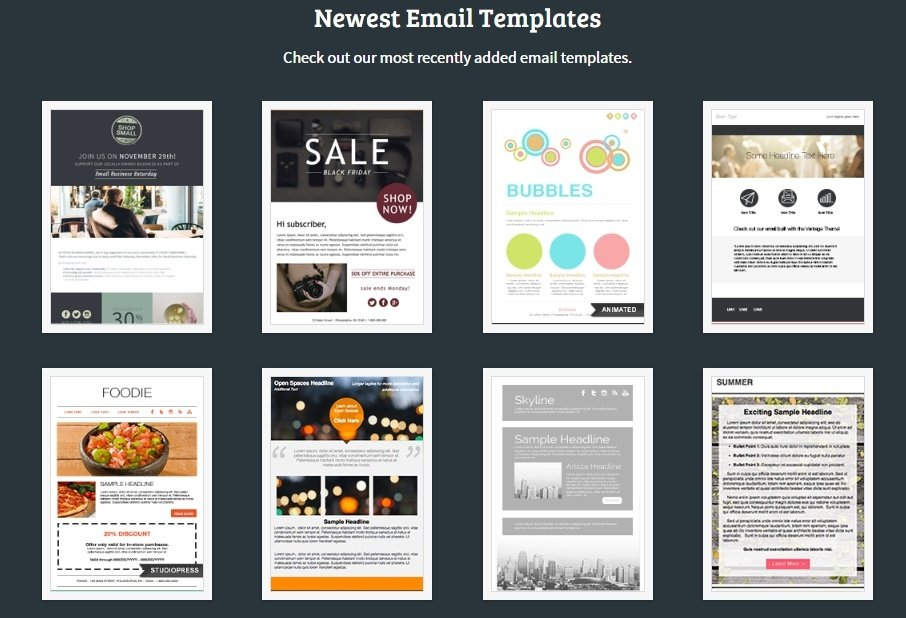 aweber email templates