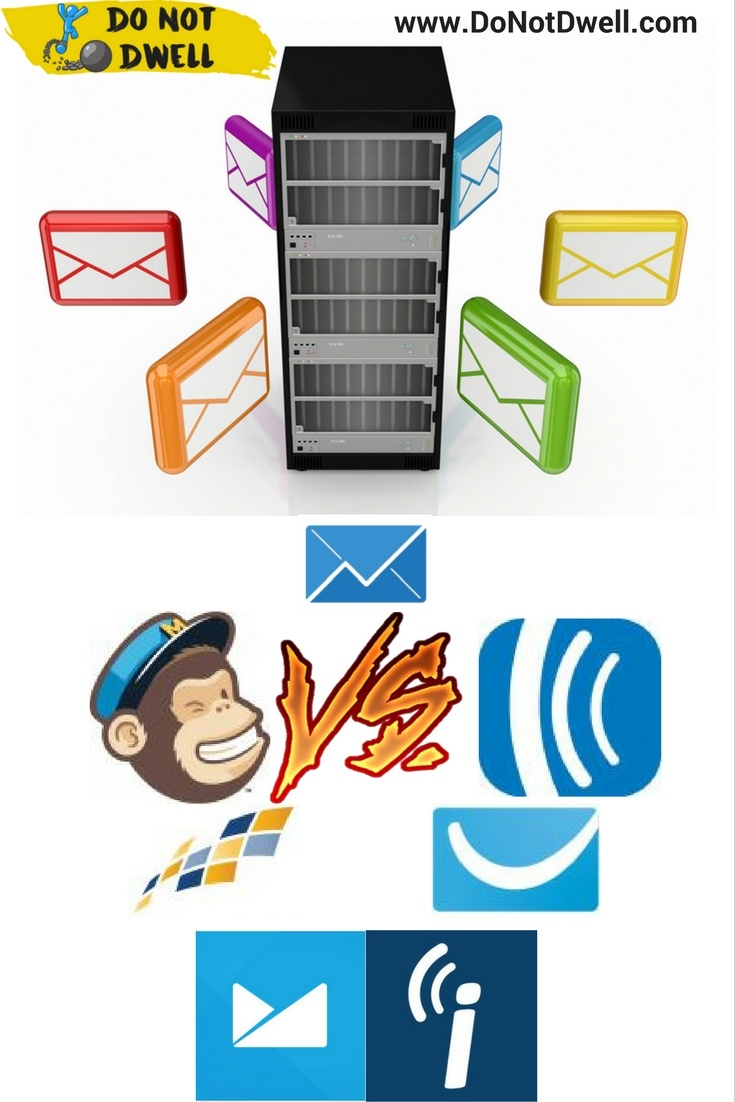Comparing email marketing software providers is not easy. Each of them, offer different features associated with tiered plans. Those plans, include varied pricing per the amount of subscribers. That is a lot of data to try and match-up to another service that presents it in an entirely different way. Compared providers: MailChimp, AWeber, GetResponse, iContact, Constant Contact, Campaign Monitor & ConvertKit