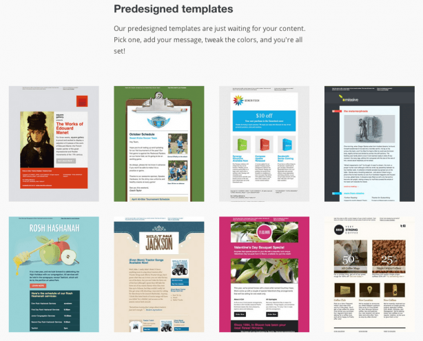 newsletter templates mailchimp