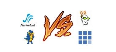 Hostwinds vs HostGator vs GoDaddy vs Bluehost (Apr 2017)
