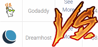 dreamhost vs godaddy