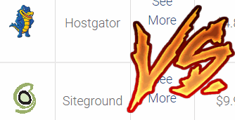 siteground vs hostgator