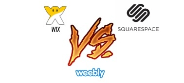 Weebly vs Wix vs Squarespace